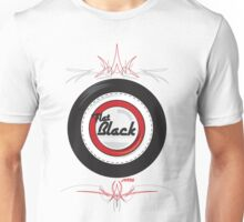 Flat Black Unisex T-Shirt