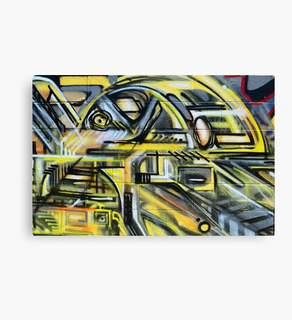 Graffiti in a freeform mordern style - Canvas Print