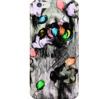 Balloons - Grunge iPhone Case/Skin