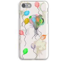 Balloons - Minimalist iPhone Case/Skin
