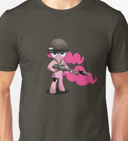 Gunner Pinkie Pie Unisex T-Shirt