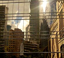 Hong Kong Reflection by Jack Bridges