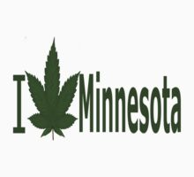 0221 I Love Minnesota  by Ganjastan