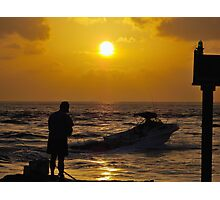 By Land or Sea Photographic Print