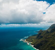 The Coast of Kauai by TeraPixelStudio