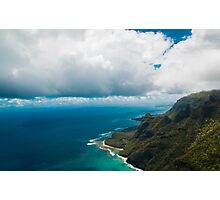 The Coast of Kauai Photographic Print