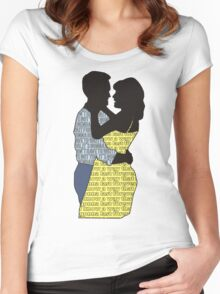 A Legendary Couple Women's Fitted Scoop T-Shirt