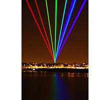 Olympic Rainbow - Whitley Bay Photographic Print