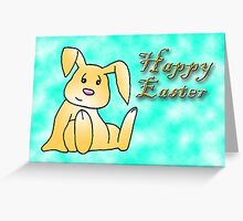 Happy Easter Bunny Greeting Card