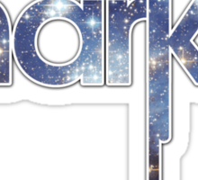 Blue Galaxy Sharkie Sticker