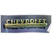 Chevrolet Emblem Poster