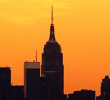 Empire State Building, New York City  by Alberto  DeJesus