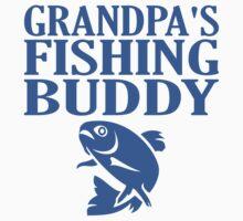 Grandpa's Fishing Buddy Kids Tee