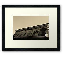 University of Salzburg Framed Print