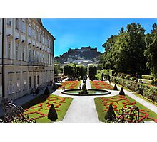Mirabell Palace and Gardens Photographic Print