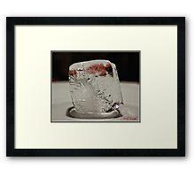 Ice Cube - 3 Framed Print