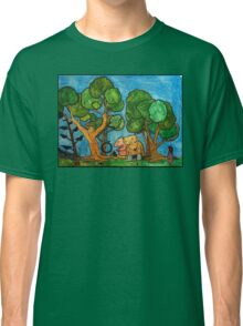 Fast asleep Foxes Classic T-Shirt
