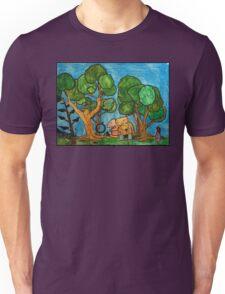 Fast asleep Foxes Unisex T-Shirt