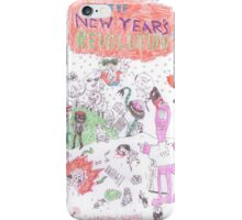 The New Years Revolution (Feat. Ethiopia999) iPhone Case/Skin