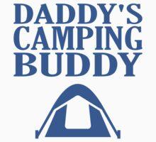 Daddy's Camping Buddy Kids Tee