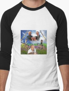 Bush x Milk Collaboration Men's Baseball ¾ T-Shirt