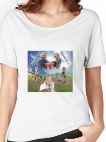 Bush x Milk Collaboration Women's Relaxed Fit T-Shirt