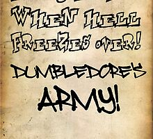 Dumbledore's Army  by Alexandrico