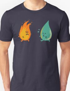 Impossible love - fire and water kiss T-Shirt