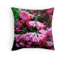 Mistic Drive Bloom 2 Throw Pillow