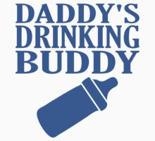Daddy's Drinking Buddy Kids Tee