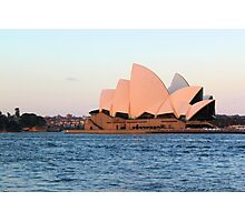 Sydney Opera House @ Sunset Photographic Print