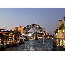 Sydney Harbour Bridge @ Night Photographic Print