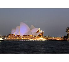 Sydney Opera House @ Night Photographic Print