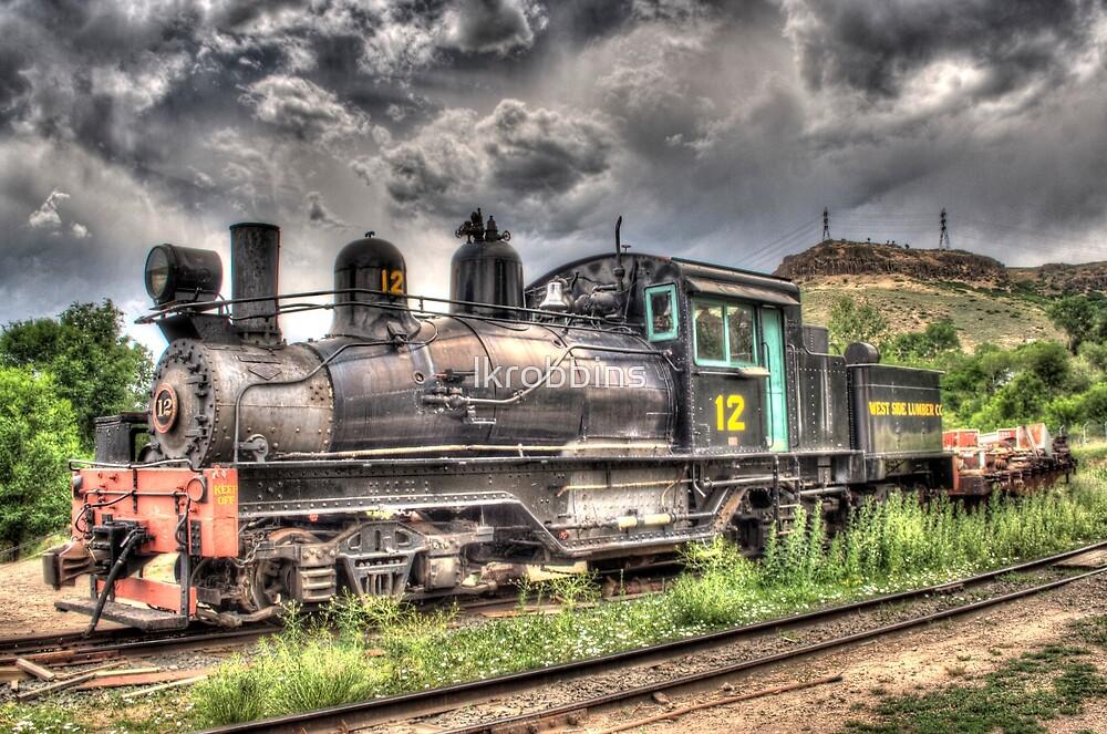 Shay Locomotive No. 12 by lkrobbins
