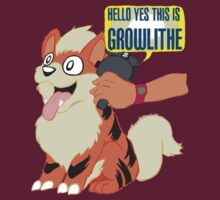 Hello Yes This is Growlithe T-Shirt