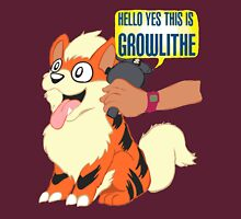 Hello Yes This is Growlithe Unisex T-Shirt