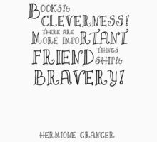 Harry Potter Hermione Granger Quote T-Shirt