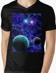 Fairy Lights Mens V-Neck T-Shirt