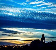 Sunset at St. Edward's by KatDonovan