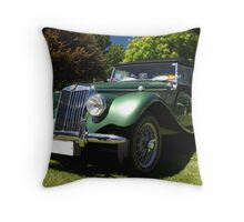 1954 MG Throw Pillow