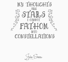My Thoughts are Stars I Cannot Fathom into Constellations Kids Clothes