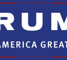 TRUMP - Make America Great Again! Sticker
