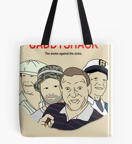 Caddyshack Movie Poster Tote Bag