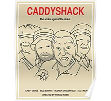 Caddyshack Movie Poster - Plain Version Poster