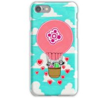 Love balloon iPhone Case/Skin