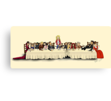 Storybrooke's Last Supper Canvas Print