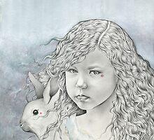 Feral Alice in Wonderland by Damara Carpenter