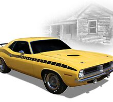 Cuda by Keith Hawley