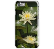 White lillies iPhone Case/Skin