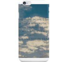 Isaiah 40 31 iPhone Case/Skin